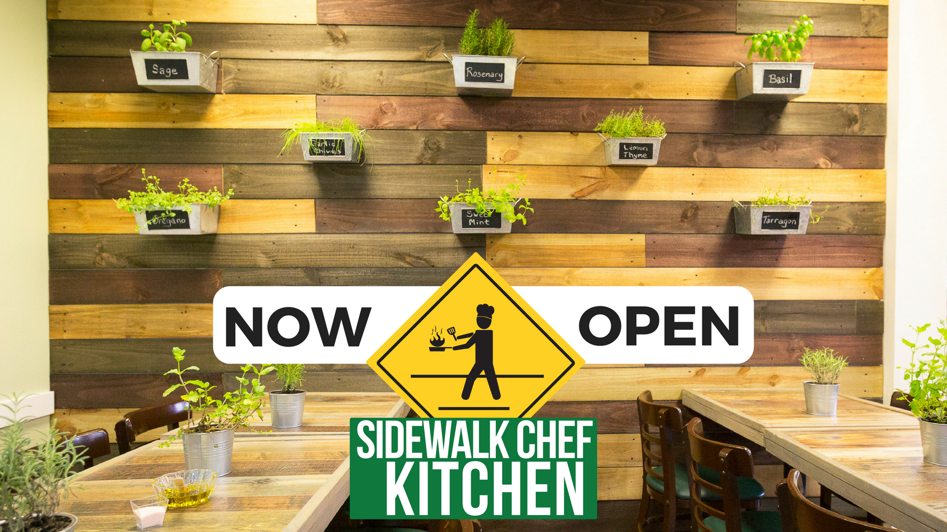 Sidewalk Chef Kitchen Now Open