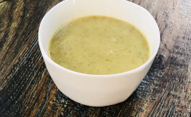 Broccoli Cheddar Soup - Sidewalk Chef Kitchen