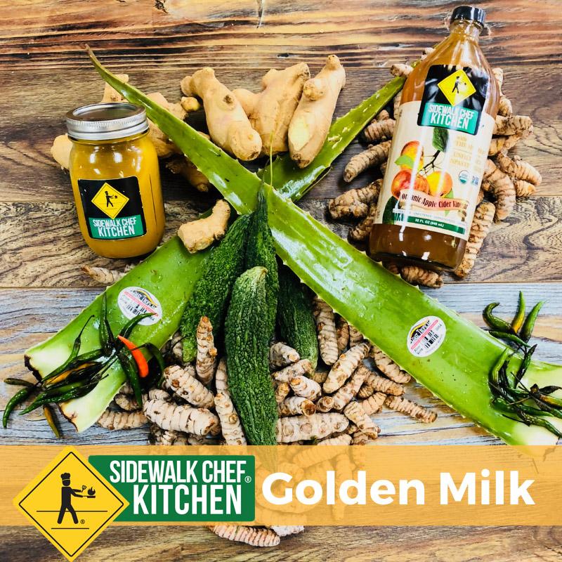Sidewalk Chef Kitchen Golden Milk